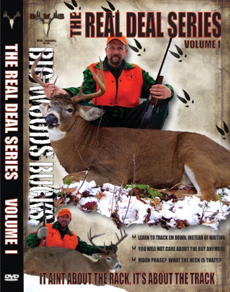 Picture of Big Woods Bucks Real Deal Deer DVD Vol.1