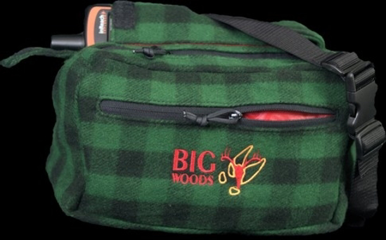 Picture of Big Woods Bucks Mid Size Fanny Pack- Grn & Blk Orig Camo