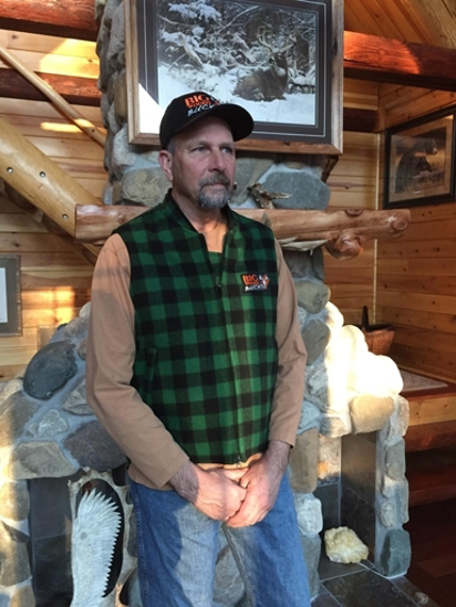 Picture of Big Woods Bucks Wool Vest - Price includes shipping