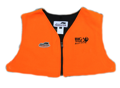 Picture of Big Woods Bucks Zippered Orange Cape - Price includes shipping