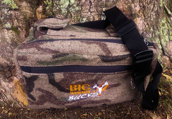 Picture of Big Woods Bucks Mid Size Fanny Pack - Brwn Camo