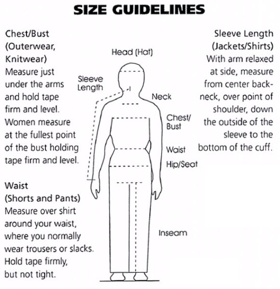 Size Guidelines